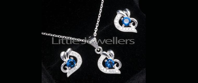 Silver Pendant-Necklace-Kenya