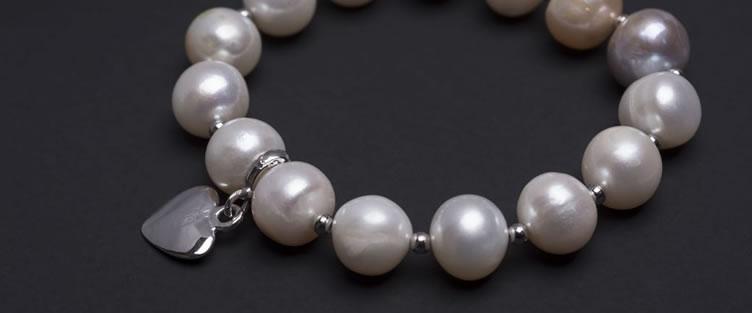 Silver Pearl Bracelets in Kenya
