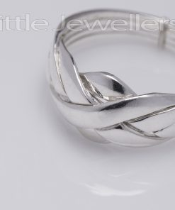 Sterling Silver Puzzle Ring