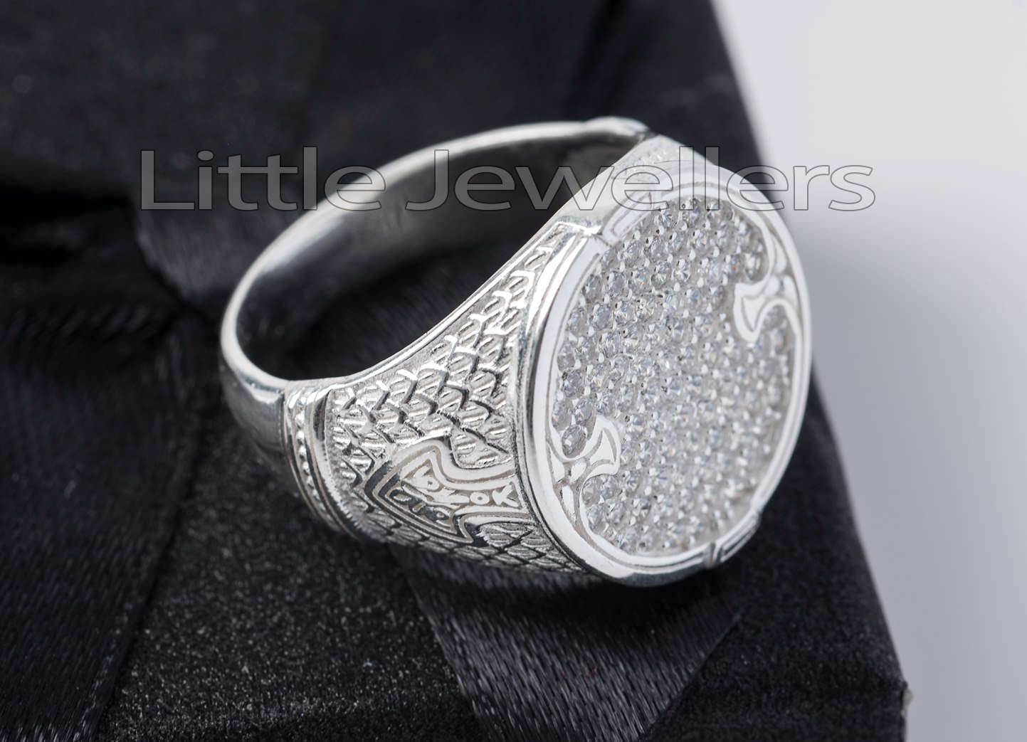 Sterling Silver Male Ring