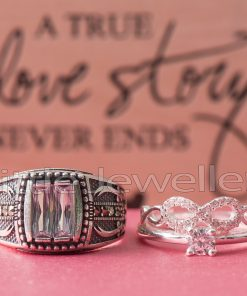 Sterling Silver Matching His & Hers Rings