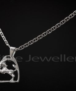 Sterling Silver Chain with Horse pendant