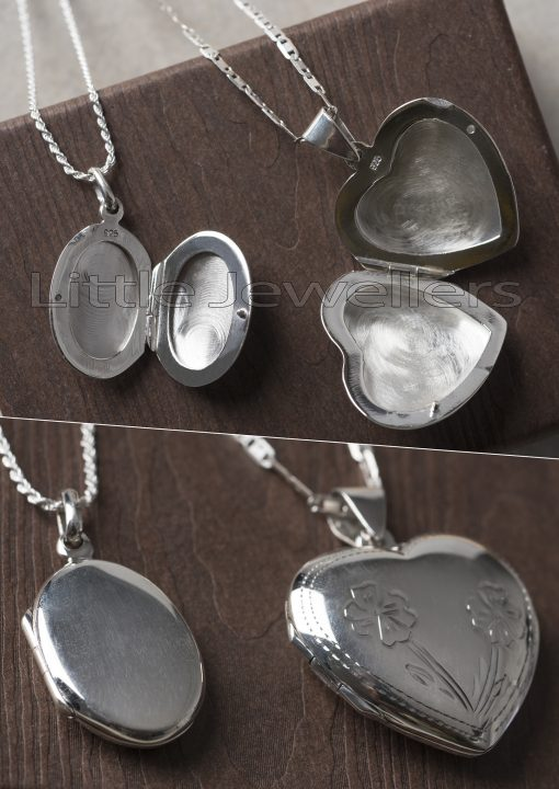 Sterling Silver Locket Chain