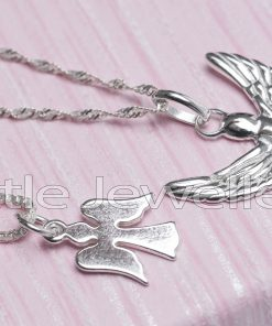 Sterling Silver Angel Pendants & Chains