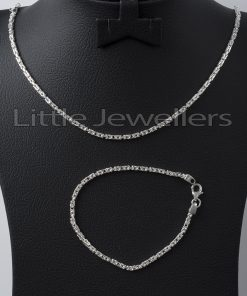 Sterling Silver Thai Link Bracelet & Chain PRICE: 9000KSH CODE:RM031 To Order Call Or Text Us On 0704878717