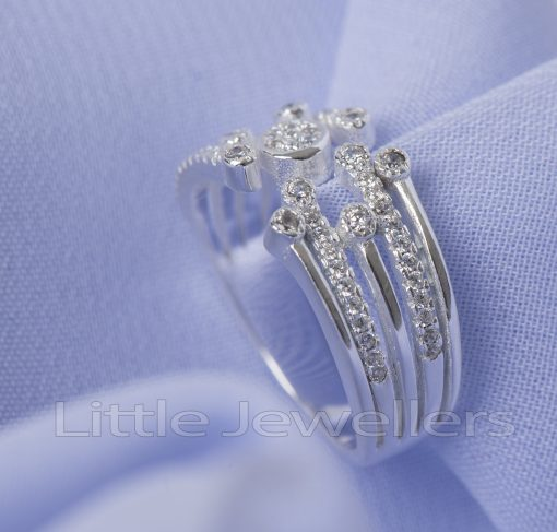Sterling Silver Single Promise Ring