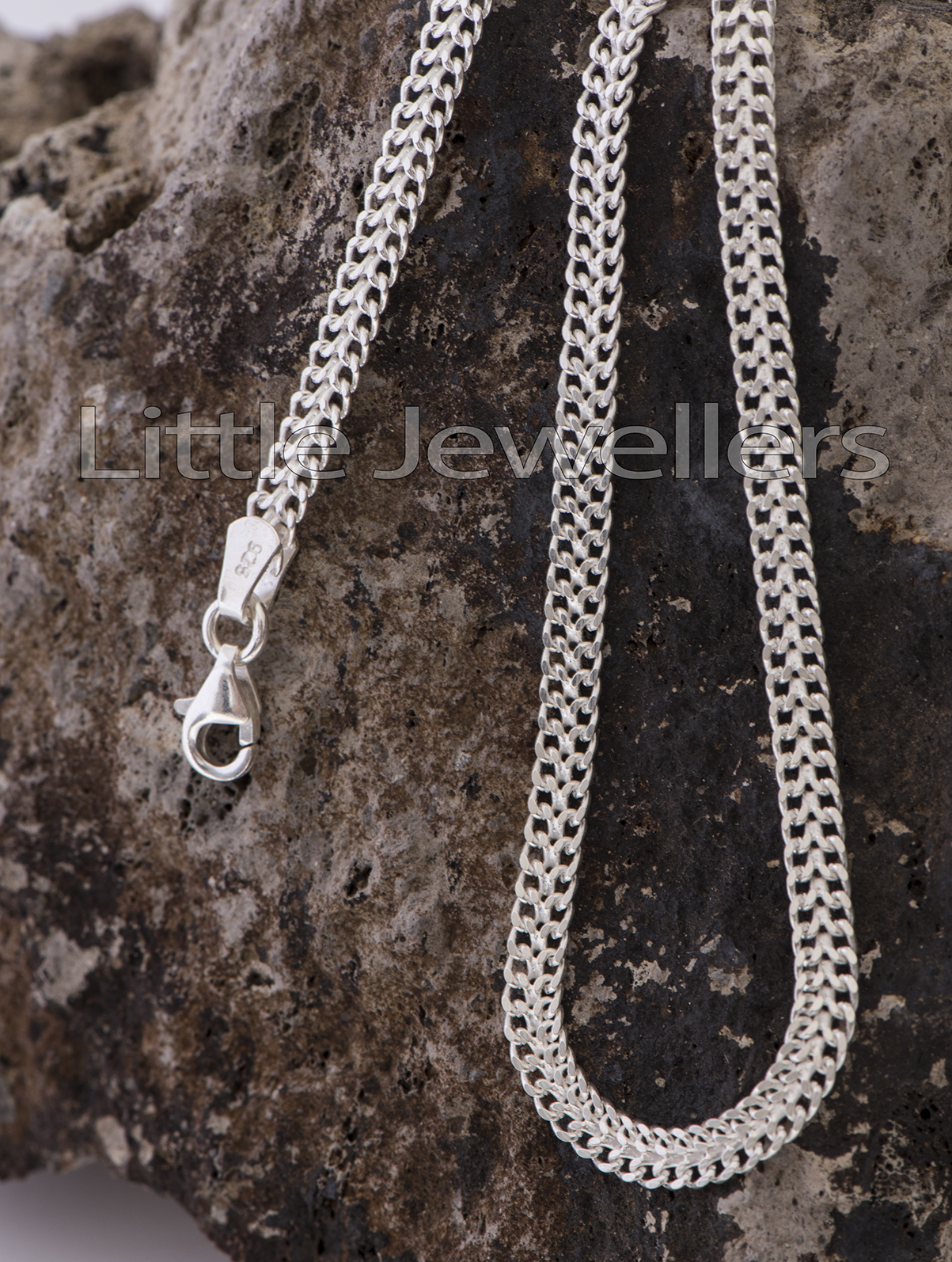 Sterling Silver Gents Necklace