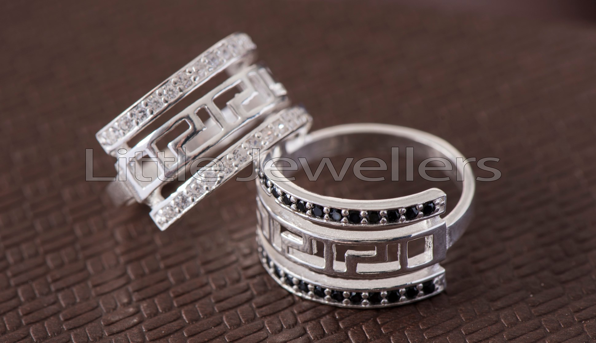 His & Hers sophisticated matching Rings