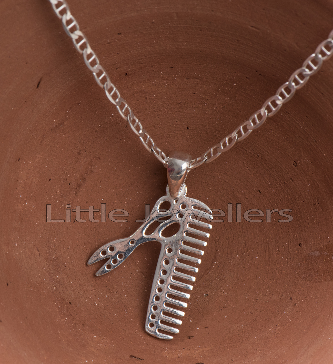 Sterling silver Personalized Hairdresser Gift