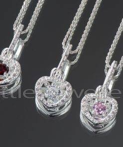 A heart pendant symbolizes love, deep affection or deep like for someone.