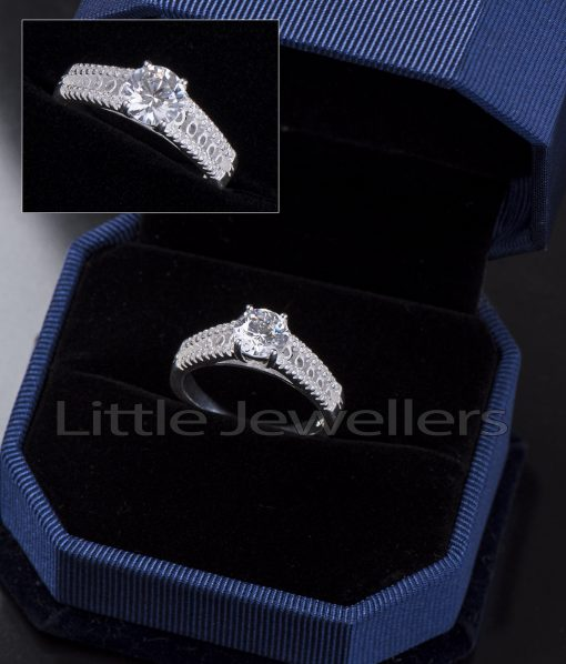 An engagement ring crafted to a standard of perfection.