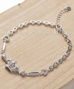 This crown bracelet is simple, classic, elegant and fit for any occasion