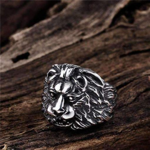 Silver 'Mufasa' Ring