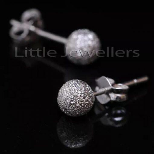 Glimmer Ball Stud Earrings