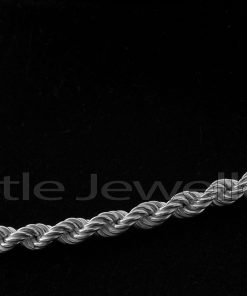Sterling Silver unisex rope Chain
