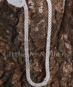 silver chain for men