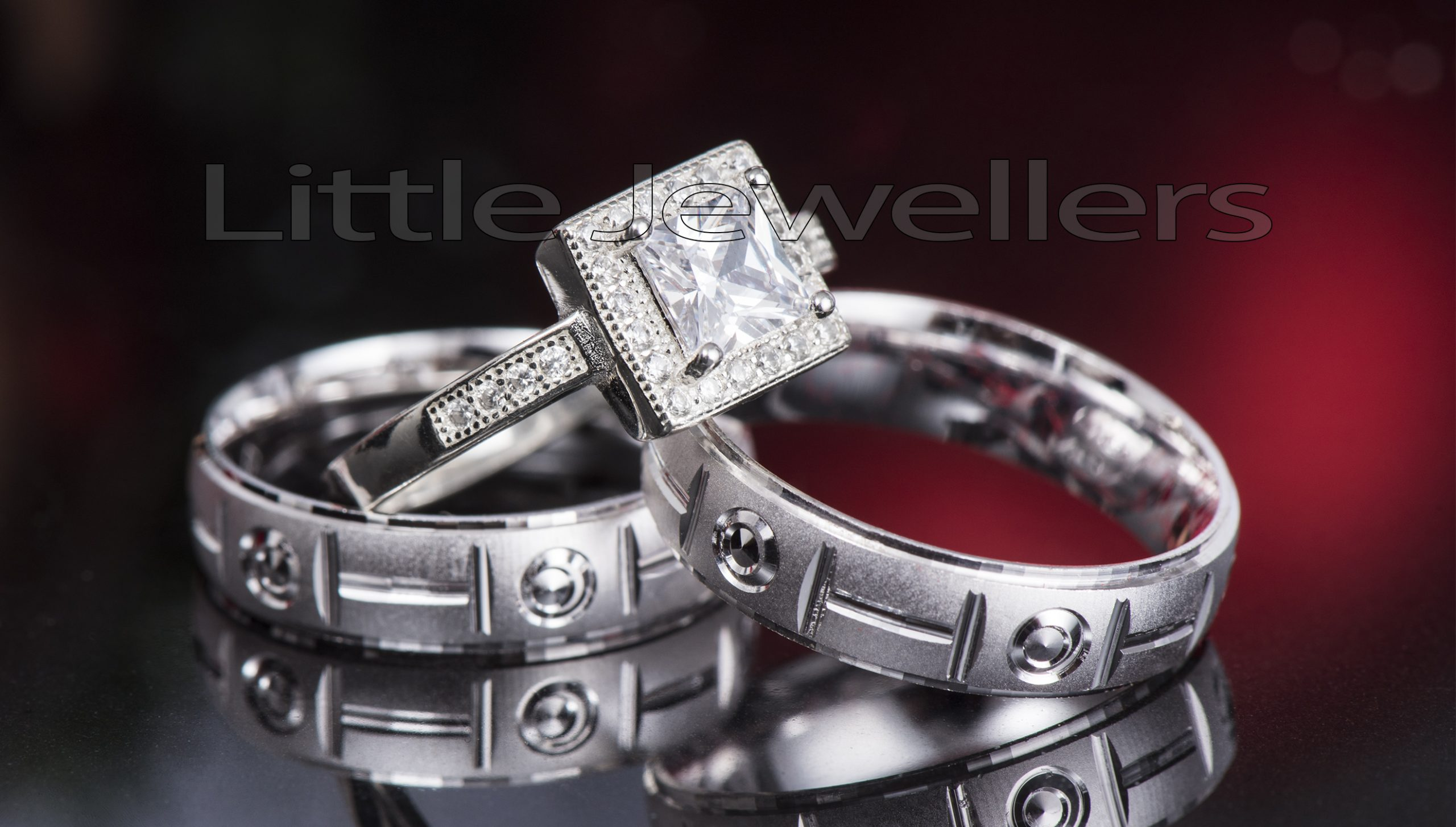 PURE SILVER WEDDING RINGS