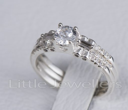 double engagement ring