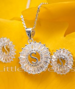 letter S jewelry
