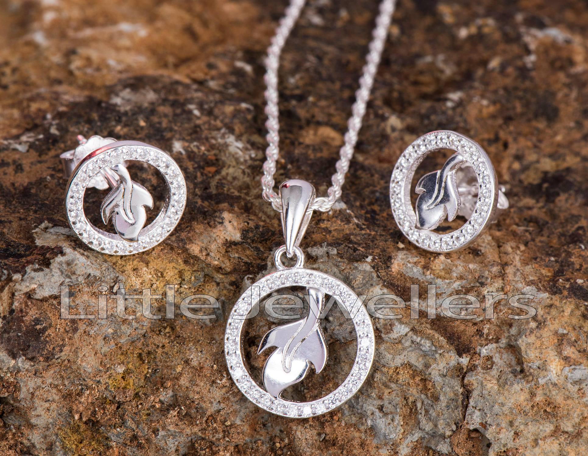 Petite Necklace and Earring Set