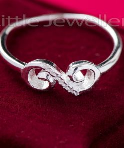 Sterling Silver Infinity Promise Ring