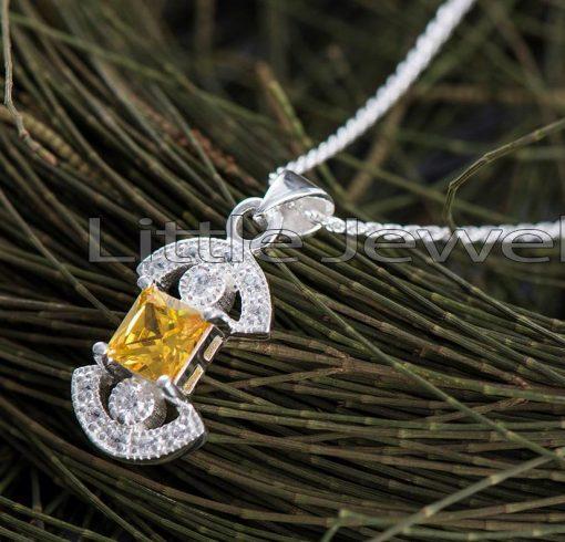 Birthstone Citrine Necklace