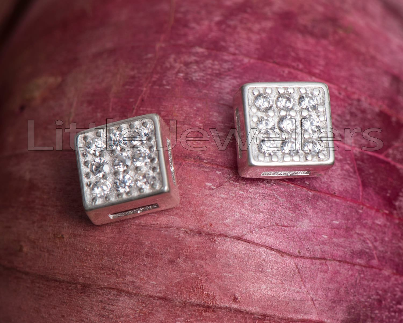 square shaped Earrings