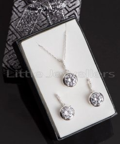 Bold, Unique and stunning Sterling Silver Necklace set