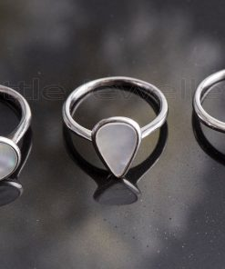 mother of Pearl Rings