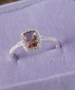 radiant cut zultanite ring