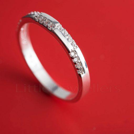 Superb Cubic Zirconia promise Ring