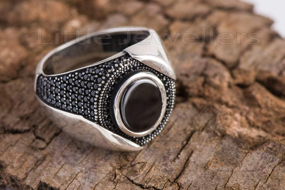 Bold and Commanding Silver Male ring