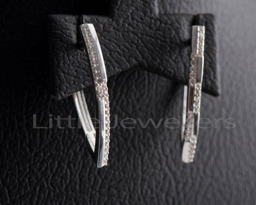 swanky Silver Earrings