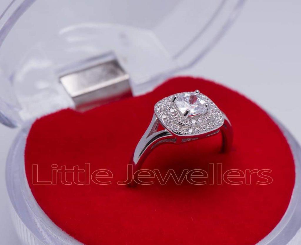 single engagement ring