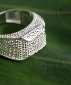 Fashionable Sterling Silver Male ring