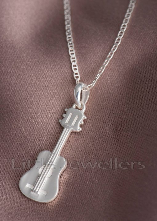 Guitar themed Necklace and Pendant