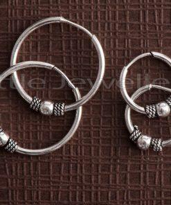 balinese silver loop