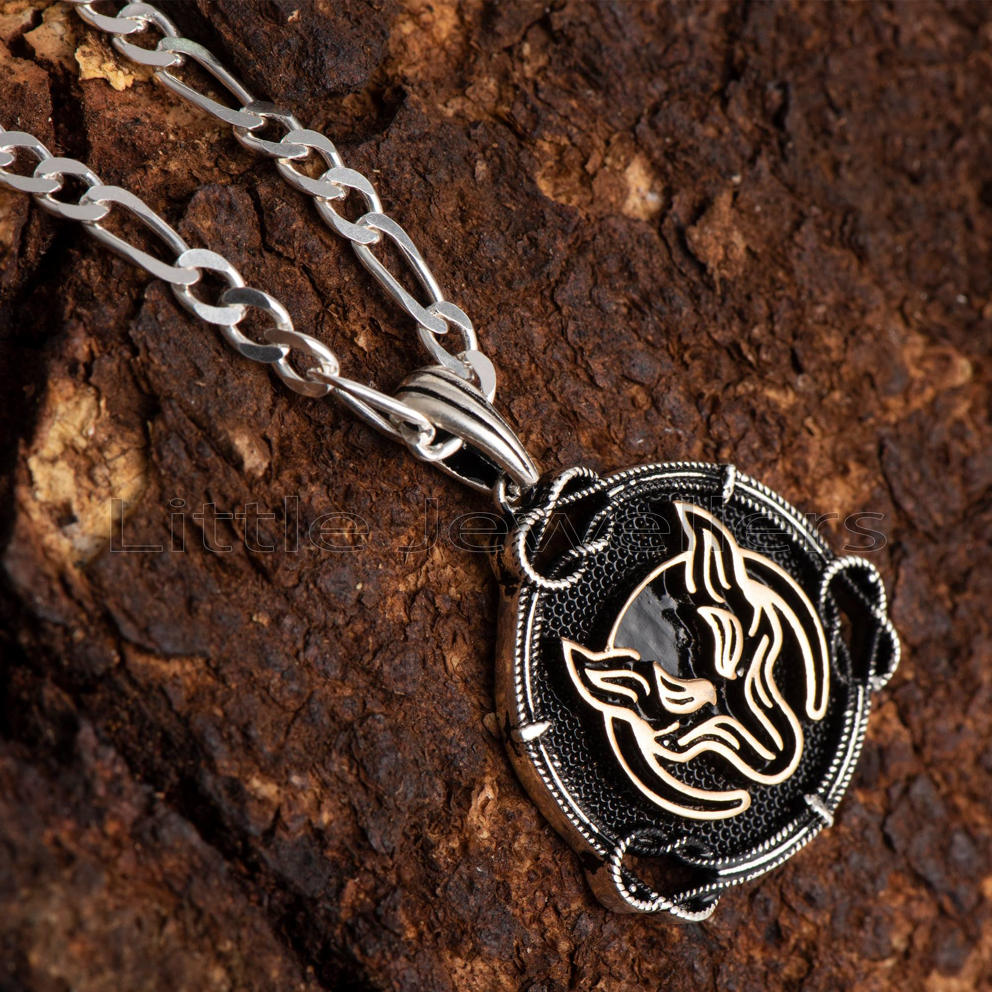 This Staggering Sterling Silver Animal Pendant Is A Symbol of Strength & Courage