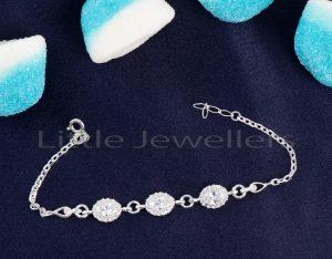 This Three Gem Silver Bracelet Is A True Representation Of Inner Beauty, Feminine Charm, & Style