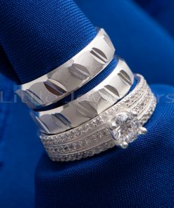 Wedding rings are symbols of promise and commitment. From the moment she slips the engagement ring on her finger, to the day you say 'I do', our wedding rings will be with you on every page and chapter you turn of your new life together.