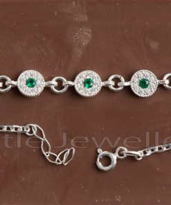 Emerald Green Link Bracelet