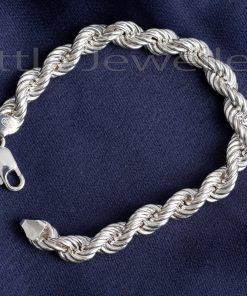Heavy Male Twisted Chain Bracelet